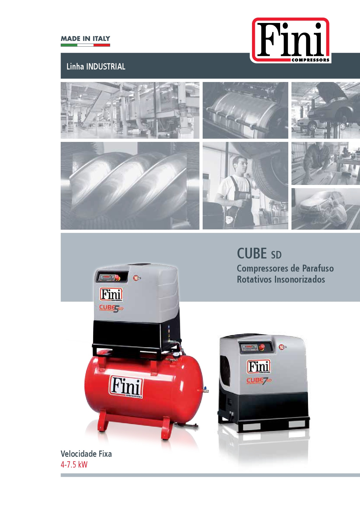 FINI CUBE – Compres. de parafuso