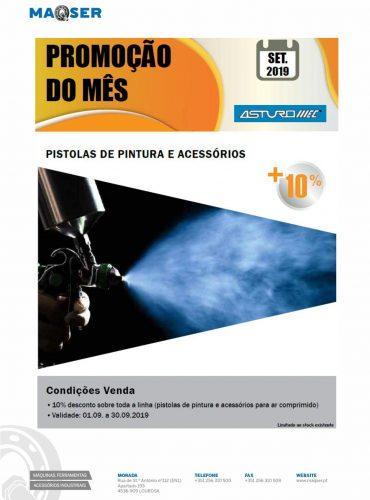 Pistolas de Pintura ASTURO-MEC