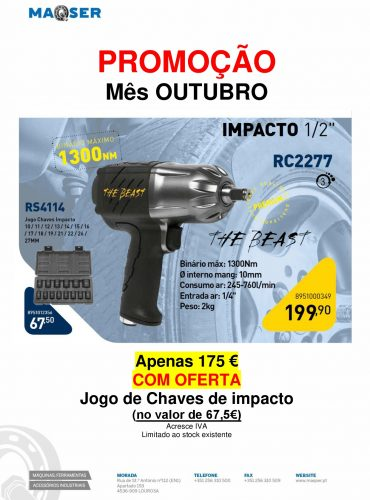 Chave impacto – RC2277