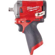 "MILWAUKEE M12FIWF12-0 - CHAVE IMPACTO 1/2"" - 339 Nm"