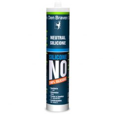 DEN BRAVEN NO PLUS - SILICONE NEUTRO PRETO (310 ml)