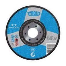 TYROLIT-DISC CORT ACO INOX STAND(**)A60-BF 115x1 -