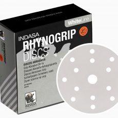 INDASA-DISCO RHYNOFIBRE A SILVER - LIXA FIBRA - 115x22 - P180 -