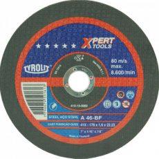 TYROLIT-DISC CORT ACO INOX BASIC(*)A46-BF178x1.6