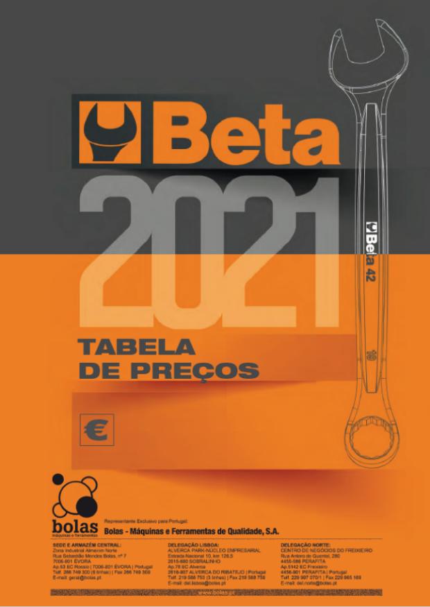 Beta Tools Catálogo 2021