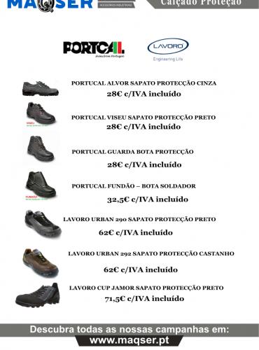 Promoção Sapatos de Proteção