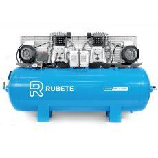 RUBETE JUNIOR 300DPT - 3+3 HP - COMPRESSOR PISTÃO 300 L CORREIAS